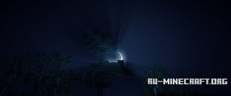 Скачать Isle of Solitary (Custom Terrain) для Minecraft