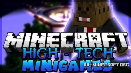 Скачать Hi-Tech Mini-Games and Arenas для Minecraft