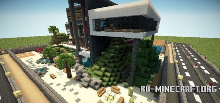 Скачать Luxurious Modern House 2 для Minecraft