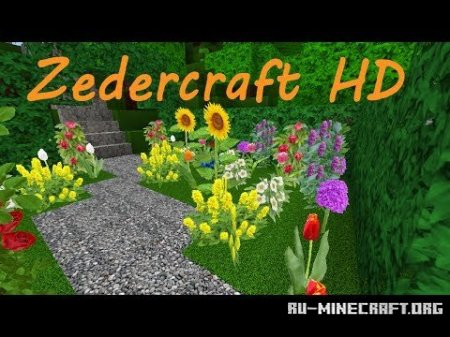 Скачать Zedercraft autumn HD для Minecraft 1.7.10