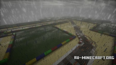 Скачать Mario Kart для Minecraft