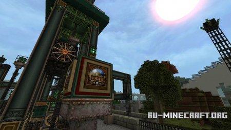 Скачать Glimmar's steampunk для Minecraft 1.7.10