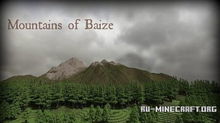 ������� Mountains of Baize ��� Minecraft