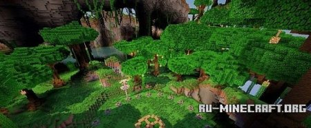 Скачать Uzuri - Carnivorous Jungle для Minecraft