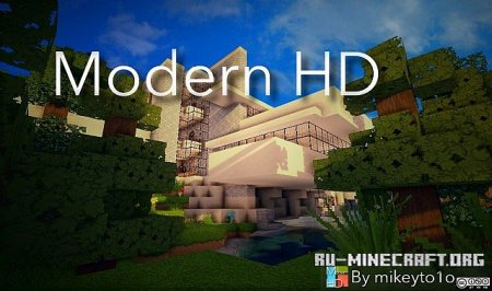 ������� New Modern HD ��� Minecraft 1.7.10