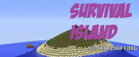 Скачать Survival Island-15 Challenges для Minecraft