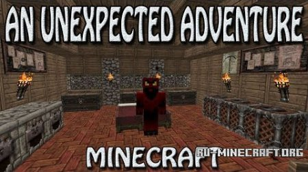 Скачать An Unexpected Adventure для Minecraft