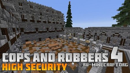 ������� Cops and Robbers 4: High Security ��� Minecraft