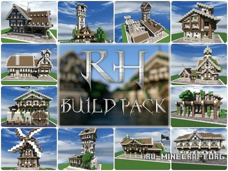 ������� Reinhart City Buildpack ��� Minecraft