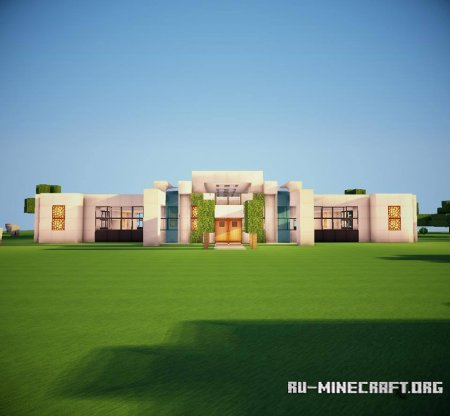 Скачать Modern House by KenyukiCreations для Minecraft