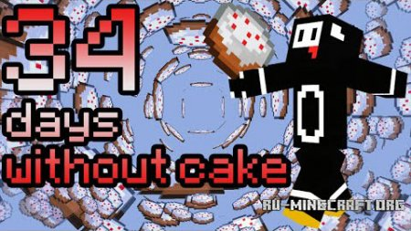 Скачать 34 Days Without Cake Parkour для Minecraft