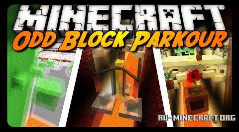 Скачать odd block parkour для minecraft