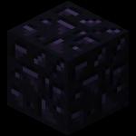 Обсидиан в Minecraft