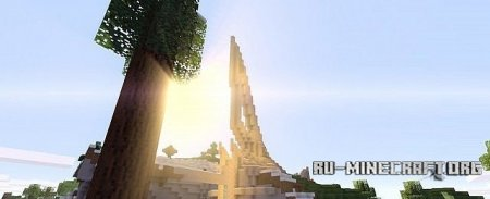 �������  Section of Halo Ring ��� Minecraft