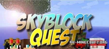 �������  Skyblock Quest ��� Minecraft