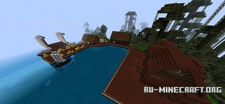 �������  Pirate Ship ��� Minecraft