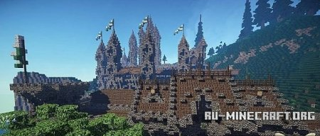 ������� Kingdom of Cial. A server spawn ��� Minecraft