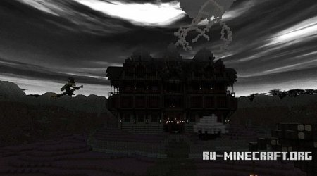 �������  Halloween Manor ��� Minecraft