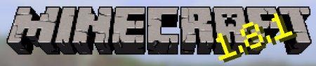 Лого Minecraft 1.8.1