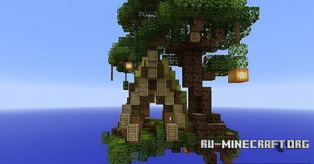 �������  Wood Elven Storehouse ��� Minecraft