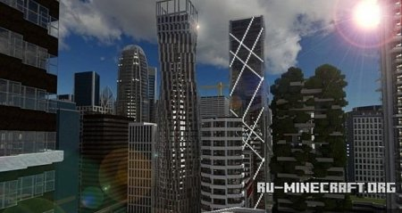 Скачать  Infinity Tower  Cayan Tower для Minecraft