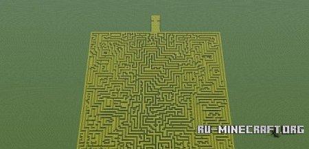 Скачать Melon Labyrinth для Minecraft