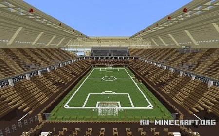 ������� Soccer/Football Arena ��� Minecraft