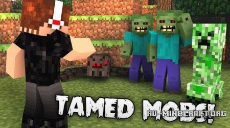 Скачать Tamed для Minecraft 1.7.10