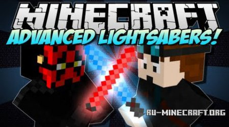 Скачать Advanced Lightsaber для Minecraft 1.7.10