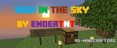 �������  High in the Sky ��� Minecraft