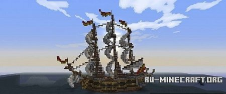 Скачать  A Spanish Treasure Ship для Minecraft