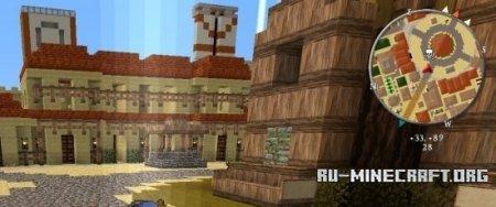 Скачать Zan's MiniMap для Minecraft 1.7.5