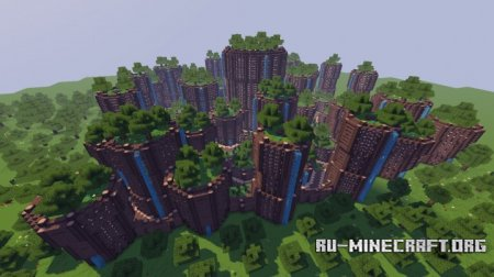 Скачать Minecraft Cinematic - City Of Nature для Minecraft