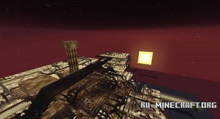 Скачать Call Of Duty Zombies Redstone Arena для Minecraft