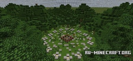 Скачать  Survivalgames Forest  для Minecraft