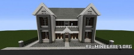 Скачать  Tranquility Modern Mansion для Minecraft