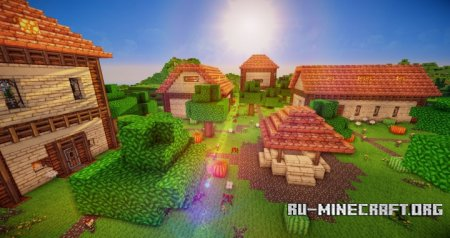 Скачать Medieval Village [Small Edition] для Minecraft