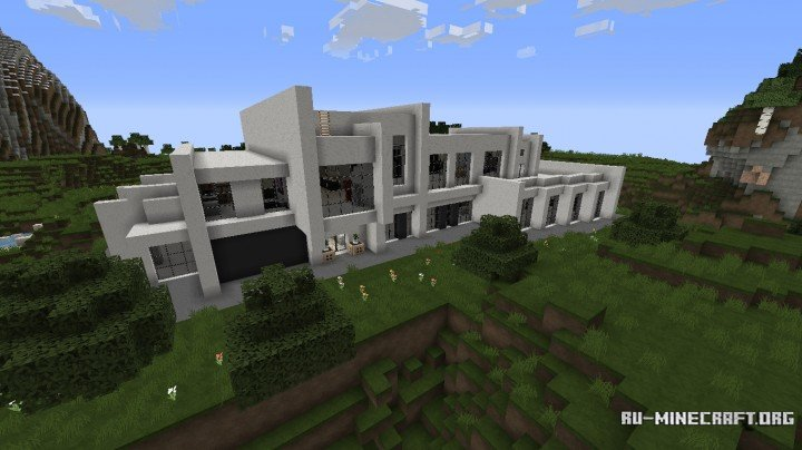 Скачать карту Красивый город для Minecraft 1.7.10