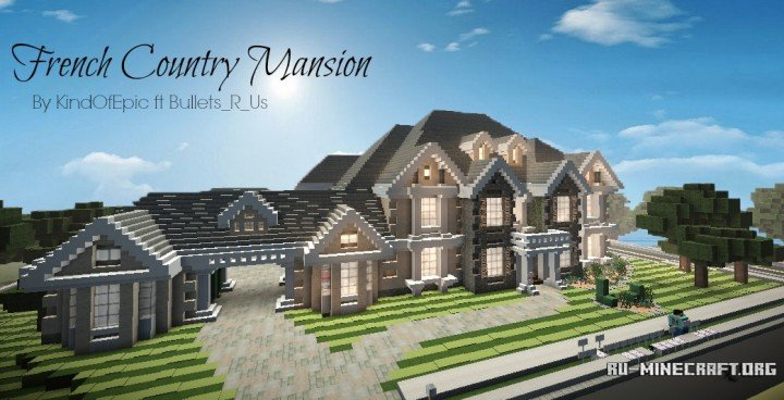 Minecraft Country Estate Www Picturesboss Com