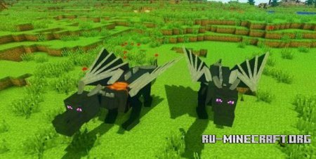 Скачать Dragon Mounts для Minecraft 1.7.9