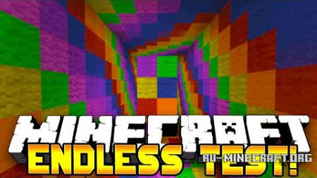 ������� The Endless Test Puzzle ��� Minecraft
