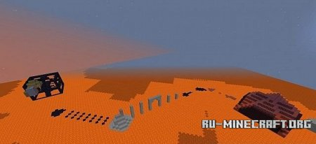 Скачать  Lava world parkour для Minecraft