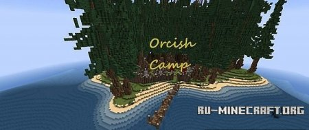 Скачать  Orcish Camp - Fantasy Build Series для Minecraft