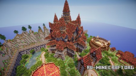 Скачать Simple Faction Spawn для Minecraft