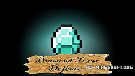 Скачать Diamond Tower Defence для Minecraft