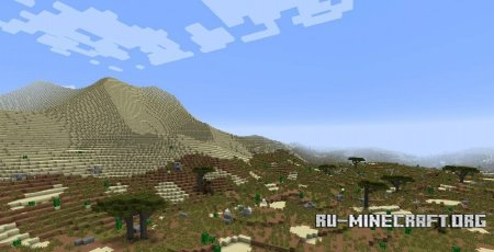 Скачать Realistic World Gen для Minecraft 1.7.10