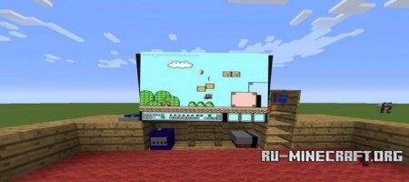 Скачать Decorative Videogame Systems для Minecraft 1 7 10
