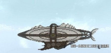 Скачать  The Dawntreader – Steampunk Airship для Minecraft