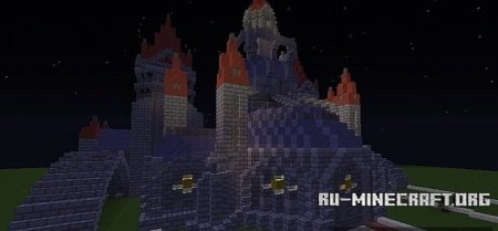 �������  League Castle ��� Minecraft