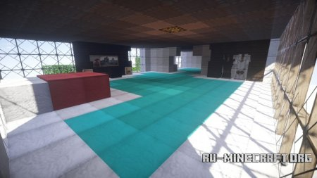 Скачать Modern Minecraft Mansion для Minecraft